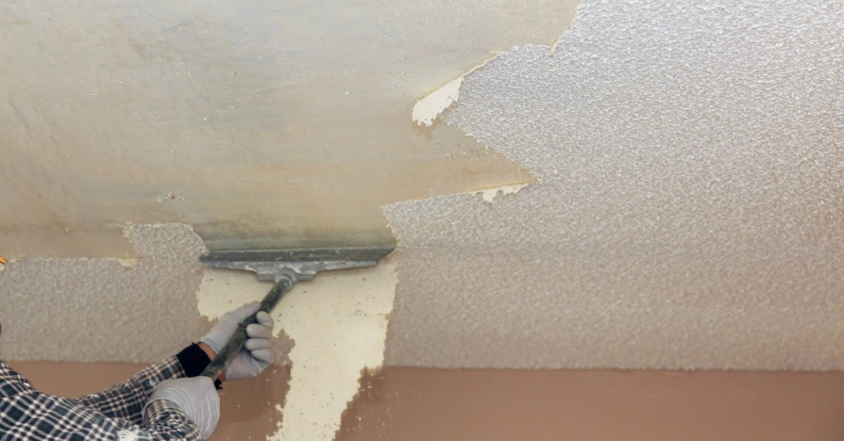 Popcorn Ceiling Removal Why You May
